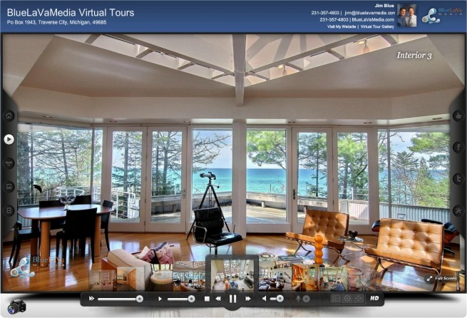 Virtual Tour window